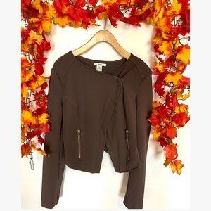 BARlll zip up blazer medium